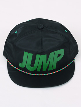 jump snapback ; bk [ 2color / free size ] 점프 스냅백